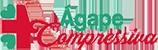 Ágape Compressiva - logo